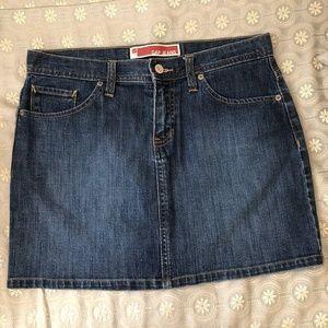 Gap Mini Denim Jean Skirts, 6